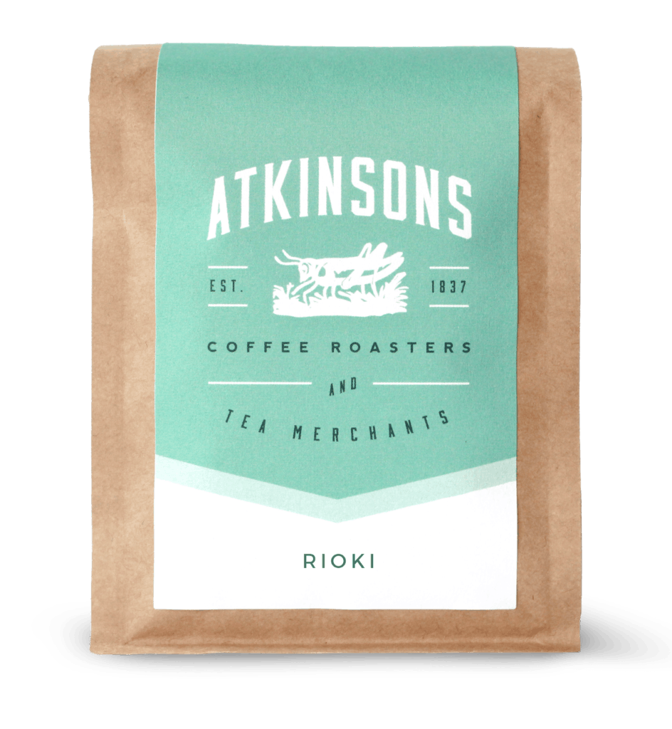 Kenya Rioki AA -- notes of Fig, Orange Blossom, and Butterscotch