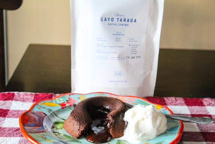 Coffee Molten Lava Cake